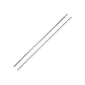 CAMPZ Aluminium Zeltange mit 8.5mm Hülse 2er Set silber